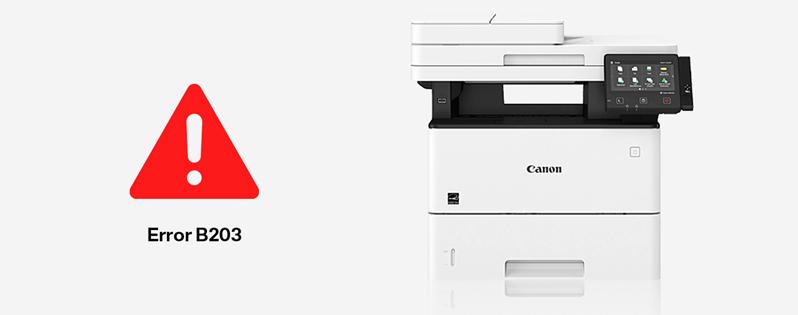 Come risolvere l'errore B203 nelle stampanti Canon